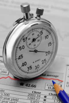 Long-term stock market timing strategy does not require a stopwatch