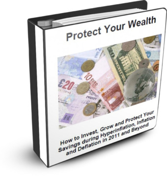 Protect Your Wealth eBook in times of Inflation and Deflation